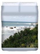 Block Island Sea Shore Duvet Cover