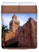 Blocks And High Tower Architecture From Orlando Florida Duvet Cover