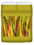 Blood Grass Duvet Cover
