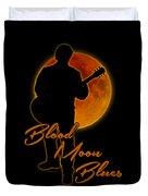 Blood Moon Blues T Shirt Duvet Cover