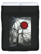 Blood Of The Moon 2 By Madart Duvet Cover