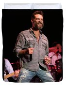 Blood Sweat And Tears Singer Bo Bice Duvet Cover