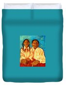 Blood Ties Duvet Cover
