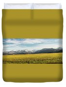 Bloody Mountain Duvet Cover