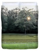 Bloody Pond Shiloh National Military Park Tennessee Duvet Cover
