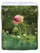 Bloom Among The Pods Duvet Cover