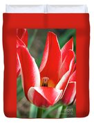 Bloom Of The Tulip Duvet Cover