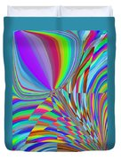 Bloomin Colorful Duvet Cover