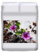 Bloomin Cross Vine Duvet Cover