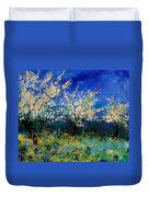 Blooming Appletrees 56 Duvet Cover