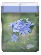 Blooming Blues Duvet Cover