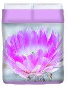 Blooming Cactus Duvet Cover