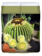 Blooming Cactus Two Duvet Cover
