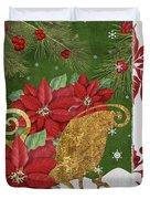 Blooming Christmas I Duvet Cover