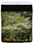 Blooming Dogwood Duvet Cover