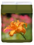 Blooming In August Duvet Cover