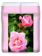 Blooming In Phases Duvet Cover