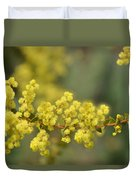 Blooming In Yellow Duvet Cover