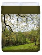 Blooming Landscape Duvet Cover
