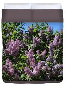 Blooming Lilacs Duvet Cover