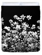 Blooming Magnolia Tree Duvet Cover