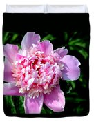 Blooming Peony Duvet Cover