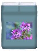 Blooming Phlox Duvet Cover