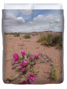 Blooming Prickley Pear Duvet Cover