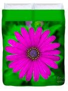 Blooming Purple Duvet Cover