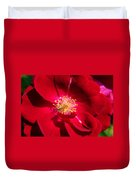 Blooming Rose Duvet Cover