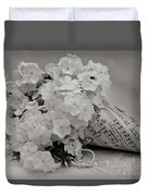 Blossom And The Bee Cornucopia  Duvet Cover