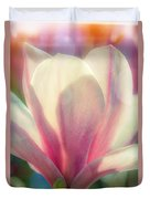 Blossom Flares Duvet Cover by Louis Rivera