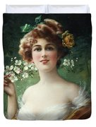 Blossoming Beauty Duvet Cover by Emile Vernon