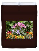 Blossoming Flowers Duvet Cover