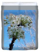 Blossoming Pear Duvet Cover