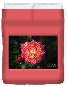 Blossoming Rose Duvet Cover
