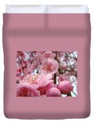 Blossoms Art Print Pink Spring Blossom Baslee Troutman Duvet Cover
