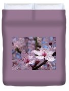 Blossoms Art Prints Pink Spring Tree Blossoms Canvas Baslee Troutman Duvet Cover