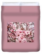Blossoms Art Spring Pink Tree Blossom Floral Baslee Troutman Duvet Cover