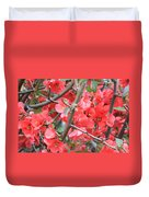 Blossoms Branches And Thorns Duvet Cover