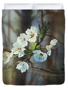 Blossoms In The Wild Duvet Cover