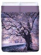 Blossoms In Winter Duvet Cover