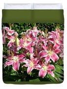 Blossoms Of Chase Lane Duvet Cover