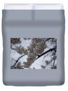 Blossoms Of Dc Duvet Cover