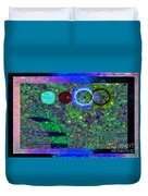 Blossoms Of Nonviolent Conflict Resolution Duvet Cover