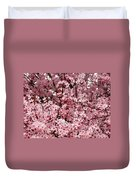 Blossoms Pink Tree Blossoms Giclee Prints Baslee Troutman Duvet Cover