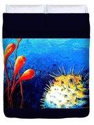 Blow Fish Duvet Cover