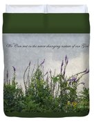 Blowing In The Breeze Duvet Cover