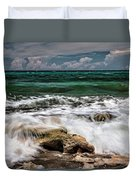 Blowing Rocks Preserve  Duvet Cover