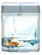 Blue Abstract 12m1 Duvet Cover